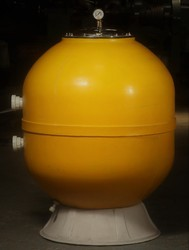 Laminated / Gelcoat FRP Pressure Sand Filters