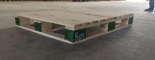 Rectangular Warehousing Wooden Pallet, Size: 1200 mm l x 1000 mm W