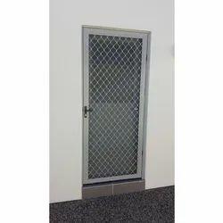 6 Feet Aluminium Mesh Door