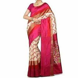 Silk Printed Ladies Saree