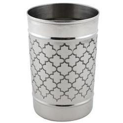 Etched Multi Purpose Tumbler and Tooth Brush Holder