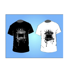 Hosiery Half Sleeve Printed T Shirts