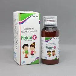 Aceclofenac With Paracetamol Suspension