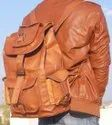 Leather Backpack for Men's