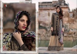 Pakistani Cotton Fancy Salwar Suits