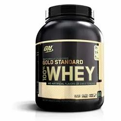 Whey Proteins On Protein  Supplement Powder, Packaging Type: Plastic Container