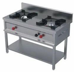 Stainless Steel LPG Kitchen Gas Range