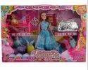 Pink Plastic Barbie Dancing Doll Set, 31.2 X 28.2 X 6.4 Cm