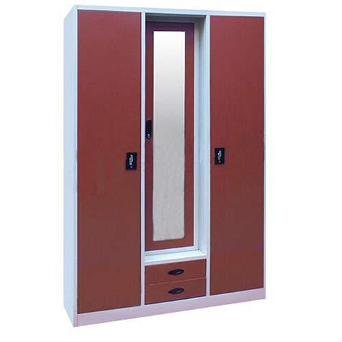 7fb98792e 3 Door Steel Almirah at Rs 13500  piece