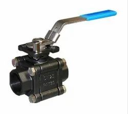 3-Piece Carbon Steel Socket Weld Ball Valve