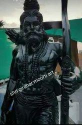 Black Marble Parshuram Statue