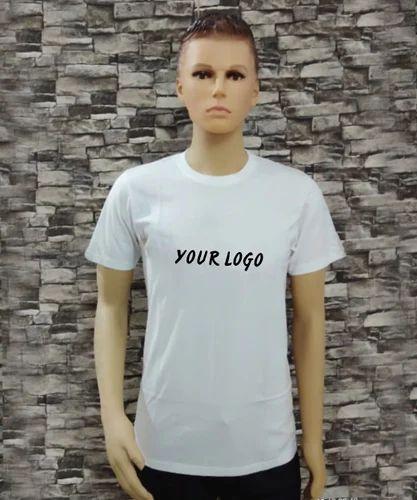 95e5340a8 WHITE Single Jersey Cotton Tee Shirt, Rs 140 /piece, Tirupur Brands ...