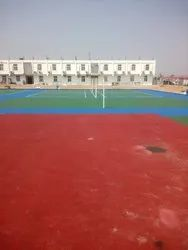 Bitumen Flooring Court