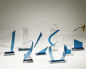 Glass Transparent Trophies