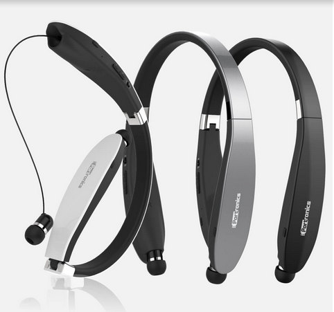 ff068a2bdf3 Black Portronics Harmonics 200 Wireless Stereo Neckband Headset, Rs ...