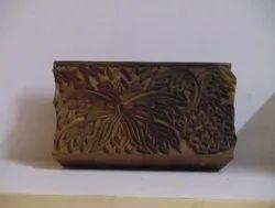 Floral Border Designs Printing Wooden Blocks