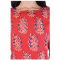 Lavanya Rayon Designer Printed Double Layer Kurti