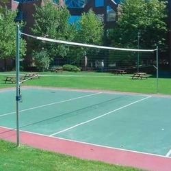 KDF Acrylic Volleyball Flooring Services