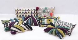 Designer Woven Pillows
