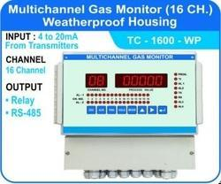 16 Channel Multichannel Gas Monitor