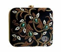 Embroidered Party Clutch Box