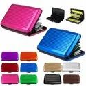 Promotional Aluminum Wallet In Different Colors
