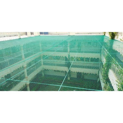 Green Nylon Safety Net, Packaging Type: Roll