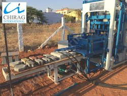 Chirag Latest Technology Hydraulic Brick Machine