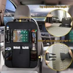 Car Back Seat Multi Pocket Organiser