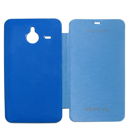 pretty nice 24b90 c9fe7 Flip Cover For Microsoft Lumia 640 Xl (blue)