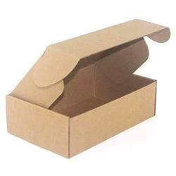 Brown E Flute Corrugated Carton