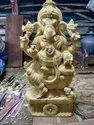 Wooden Ganapathy Statue