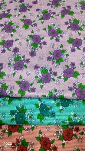 Floral Printed Nighty Fabric