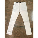Men's White Casual Cotton Pant