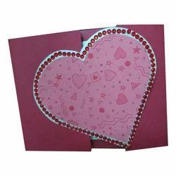 Handmade Greeting Card, Size: 13*15 Inch