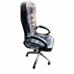 STMMZ Foam Fixed Arms Office Revolving Chair