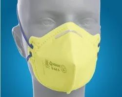 Non-Woven Yellow VENUS V-44 safety mask, for Pharma Industry, Medium