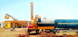 Stationary  Drum Mix Asphalt Plant