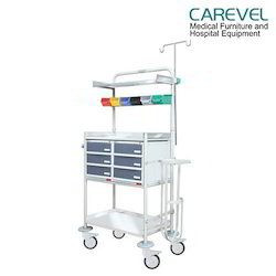 Plastic Cabinet MS Crash Cart
