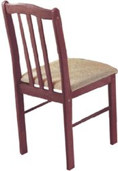 Jalaram wooden chairs with cushion seat