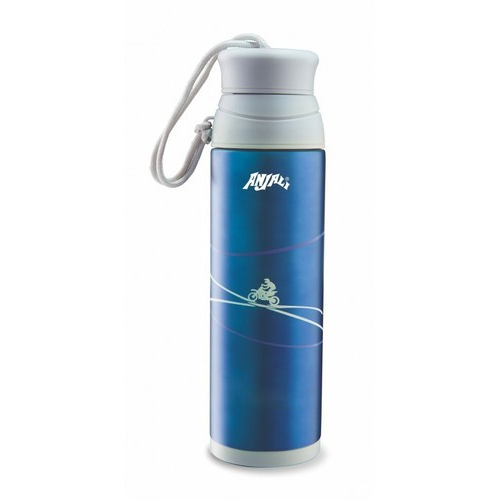 anjali stainless steel water bottel 320ml at rs 500 piece