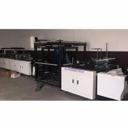 Fully Automatic D Cut Non Woven Bag Making Machine