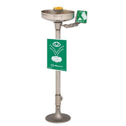 Pedestal Mount Eye Face Wash Station