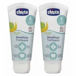Chicco Dentifricio Apple Banana Toothpaste, Packaging Size: Toothpaste Tube