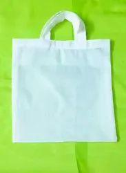 White Amala Cotton Bags, Size/Dimension: 10*10