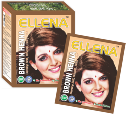 Ellena Brown Henna Hair Color