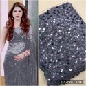 Soft Net Sequence Saree