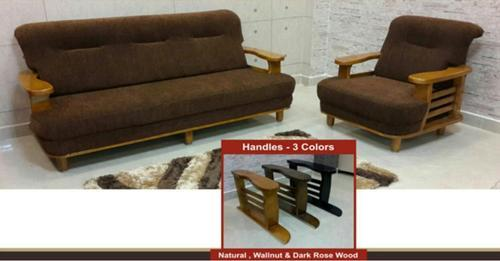Brown Wooden Handle Sofa Set, Rs 45000 /piece, P.N.A ...
