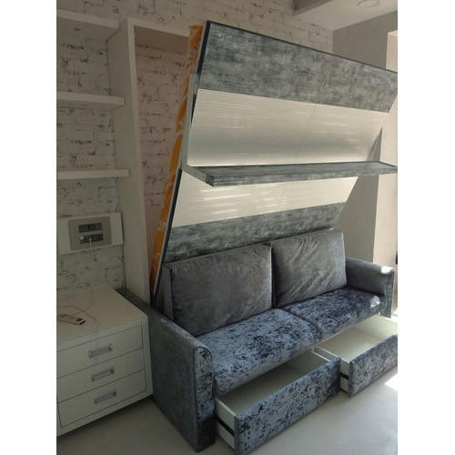 Wall Bed With Sofa Storage