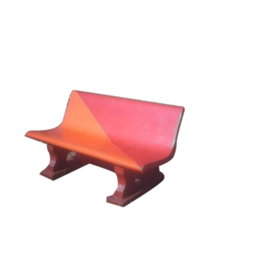 Outstanding Cement Garden Painted Bench Evergreenethics Interior Chair Design Evergreenethicsorg